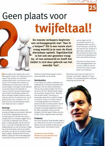 Twijfeltaal?! - Digitailing juli 2012